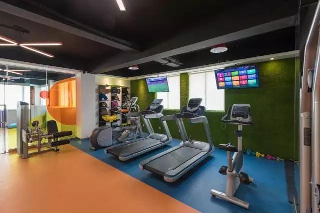 健身工作室装修 健身俱乐部装修设计 健身工作室装修效果图