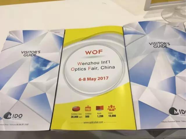 """【全球推广】wof 2017温州国际眼镜展吸""""睛""""意大利米兰"""